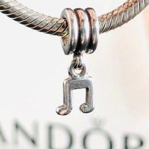 PANDORA Rare Discontinued Music Note Dangle Char
